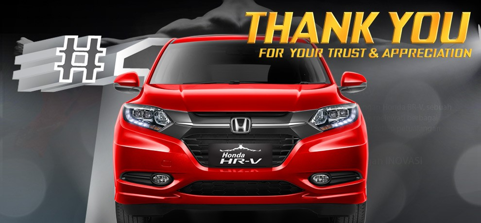 All New HONDA Hr-V