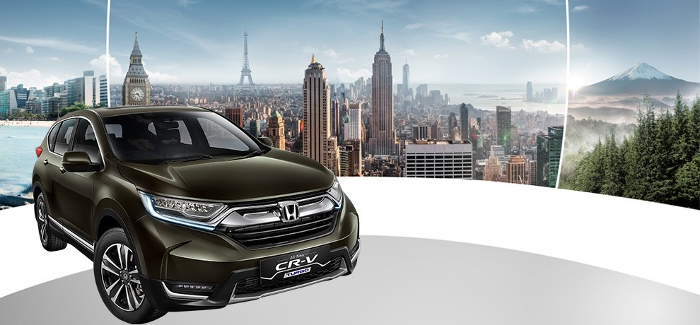 ALL NEW HONDA CR-V 1.5L TURBO