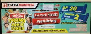 PROMO HONDA TAHUN BARU  2019 BUNGA TERENDAH DAN ANGSURAN RINGAN