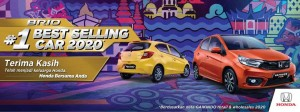HONDA BRIO THE BEST SELLING OF 2020
