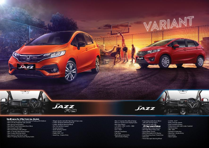 OTR cilegon cilegon HARGA HONDA ALL NEW JAZZ FACELIFT 2019