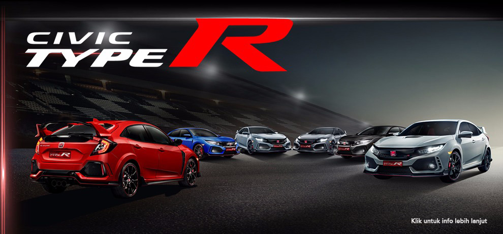 OTR cilegon cilegon HARGA HONDA CIVIC TYPE R 2019